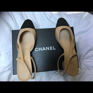 Chanel slingbacks